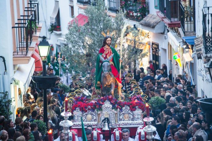 Easter parades Marbella