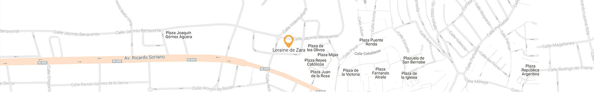 Loraine de Zara location